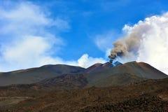 De vulkanen van Etna Royalty-vrije Stock Fotografie
