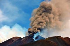 De vulkanen van Etna Stock Afbeelding