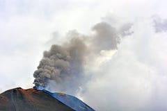 De vulkanen van Etna Stock Fotografie
