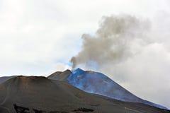 De vulkanen van Etna Royalty-vrije Stock Foto's