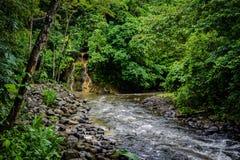 De vulkanische Hete Lentes in Costa Rica stock afbeeldingen