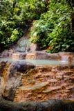 De vulkanische Hete Lentes in Costa Rica stock foto