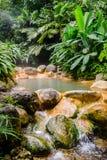 De vulkanische Hete Lentes in Costa Rica royalty-vrije stock afbeelding