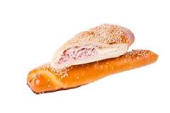 De vullingen van de sandwich Royalty-vrije Stock Afbeeldingen