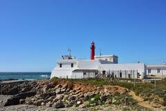 De vuurtoren Cascais Portugal van Caboraso royalty-vrije stock foto's