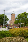 De vuurtoren in Kolobrzeg in Polen Royalty-vrije Stock Foto