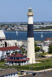 De vuurtoren van Absecon in Atlantic City, New Jersey Stock Afbeeldingen