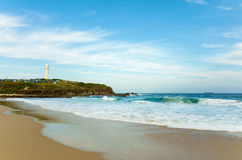 De Vuurtoren van Australië van het Wollongongstrand Royalty-vrije Stock Foto