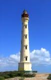 De Vuurtoren van Californië in Aruba Stock Foto's