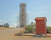 De Vuurtoren van Californië, Aruba Stock Foto