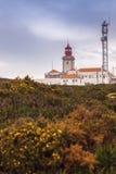 De vuurtoren van DAroca van Cabo Royalty-vrije Stock Foto's