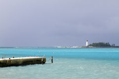 De Vuurtoren van de Bahamas royalty-vrije stock foto
