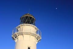 De Vuurtoren van de Kaap van het oosten, Nieuw Zeeland Royalty-vrije Stock Foto's