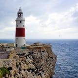 De vuurtoren van Gibraltar Royalty-vrije Stock Afbeeldingen