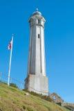 De Vuurtoren van het Eiland van Alcatraz Stock Afbeelding
