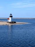 De Vuurtoren van het Eiland van Nantucket Stock Fotografie
