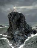 De Vuurtoren van het eilandpunt Royalty-vrije Stock Fotografie