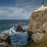 De Vuurtoren van het Neistpunt, Skye Stock Foto