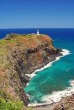 De Vuurtoren van Kilauea Stock Foto