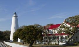 De Vuurtoren van Ocracoke royalty-vrije stock afbeeldingen