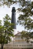 De Vuurtoren van Pensacola Royalty-vrije Stock Foto's