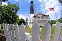 De Vuurtoren van Pensacola Royalty-vrije Stock Foto