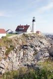 De Vuurtoren van Portland Maine Royalty-vrije Stock Afbeeldingen