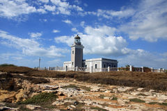 De Vuurtoren van Rojo van Cabo Royalty-vrije Stock Afbeelding
