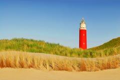 De vuurtoren van Texel Stock Fotografie