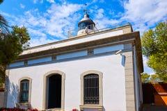 De Vuurtoren van Tossa de Mar ver in Costa Brava Royalty-vrije Stock Afbeelding