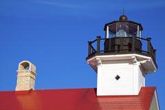De Vuurtoren van Washington van de haven Royalty-vrije Stock Fotografie