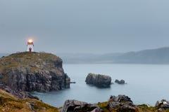 De Vuurtorendrievuldigheid Newfoundland Canada van het fortpunt royalty-vrije stock fotografie