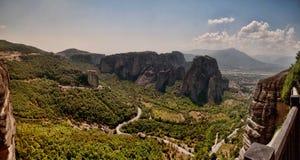 De waaier Meteora Stock Foto's