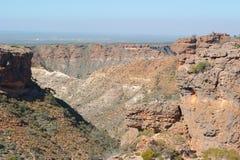 De Waaier Nationaal Park Australië van de vooruitzichtkaap Stock Afbeeldingen