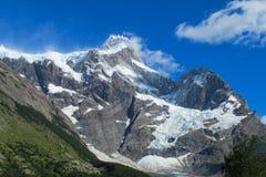 De waaier van de Andes Cerro Castillo stock foto's