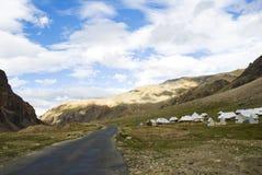 De waaier van Himalayagebergte Royalty-vrije Stock Fotografie