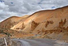 De waaier van Himalayagebergte Stock Afbeelding