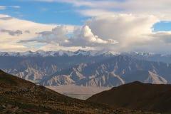 De waaier van Himalayagebergte Stock Fotografie