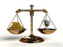 De waarde van Succes. royalty-vrije illustratie