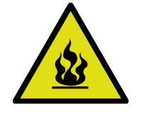 De waarschuwing van de brand Stock Illustratie