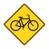 De Waarschuwing van verkeersteken royalty-vrije illustratie