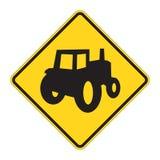 De Waarschuwing van verkeersteken - Cros van de Vrachtwagen royalty-vrije illustratie