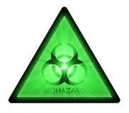 De waarschuwingssymbool van Biohazard Royalty-vrije Stock Foto's