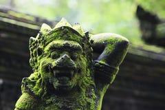 De wacht van Bali stock afbeeldingen