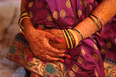 De Wachtende Bruid Stock Foto's