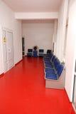 De wachtkamer van het ziekenhuis Stock Foto's