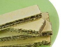 De Wafel van wafeltjes Stock Afbeelding