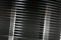 De wafeltjes van het silicium die op spaanderproductie worden voorbereid Stock Foto's