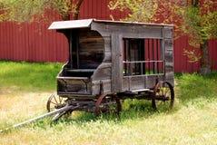 De Wagen van de Gevangenis van Circa 1911 Stock Afbeeldingen