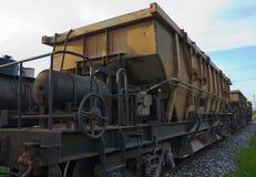 De Wagen van de lorrievultrechter Stock Afbeelding